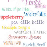 10 Free Springtime Fonts!