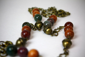 Autumn Acorn Necklace
